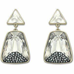 NIB Swarovski Arty Pierced Earrings